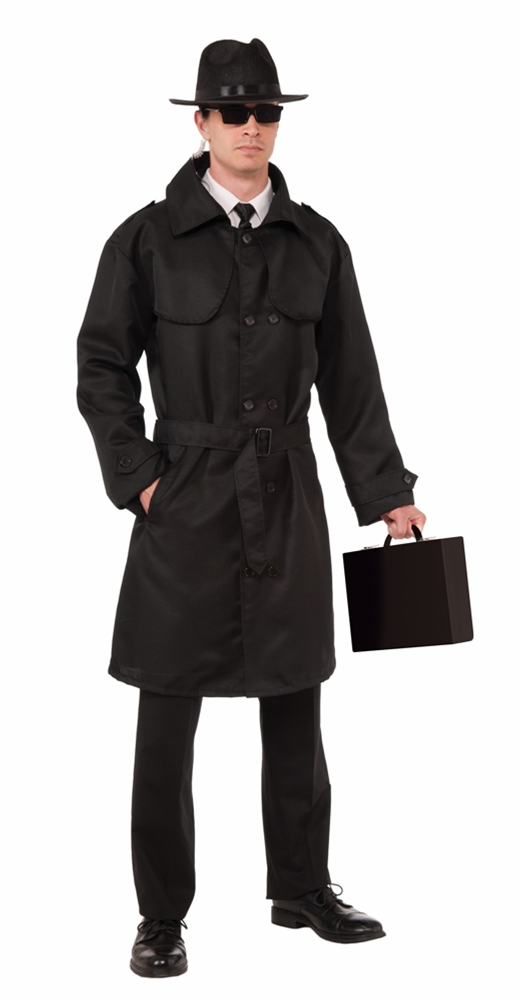 Agent Halloween Costumes Mens Costume Secret Agent