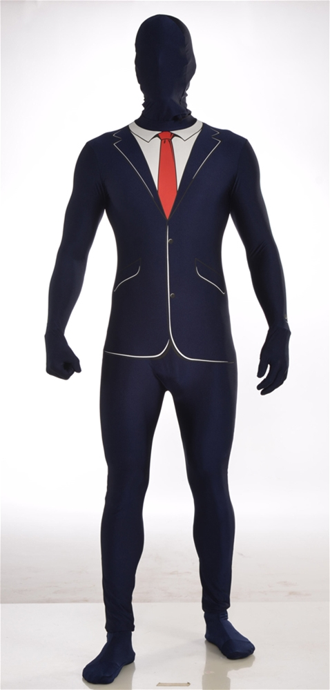 Business Skin Suit Adult Mens Costume