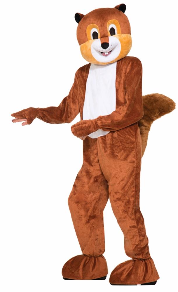 Scamper the Squirrel Adult Unisex Costume