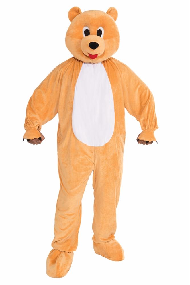 Honey Bear Mascot Jumpsuit Adult Unisex Costume by Forum Novelties