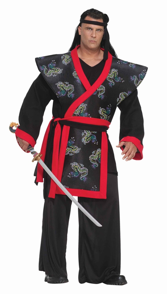 Super Samurai Adult Mens Plus Size Costume