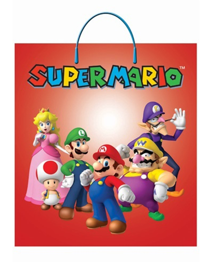 Mario Brothers Group Treat Bag by Rubies