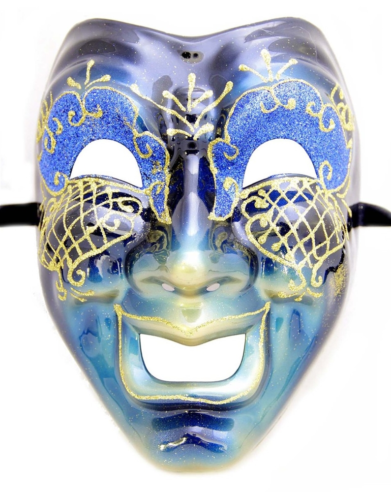Cara Feliz Masquerade Mask (More Colors)