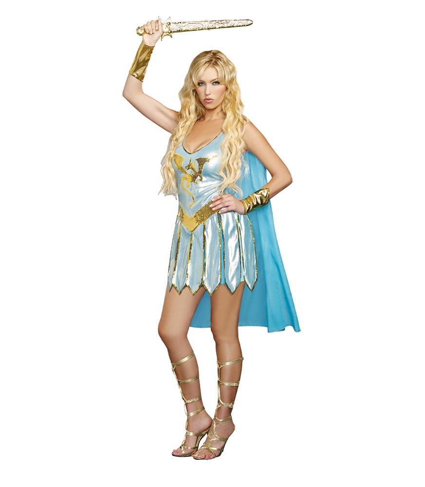Dragon Warrior Queen Adult Womens Costume