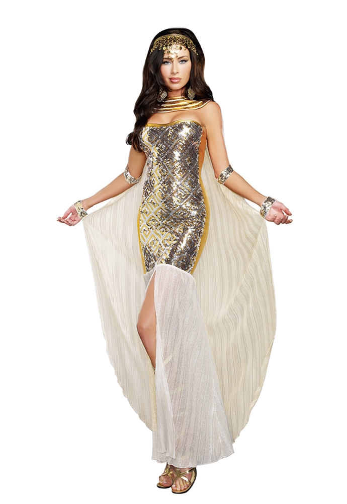 Nefertiti the Sexy Egyptian Adult Womens Costume (Egyptian Women Costume)