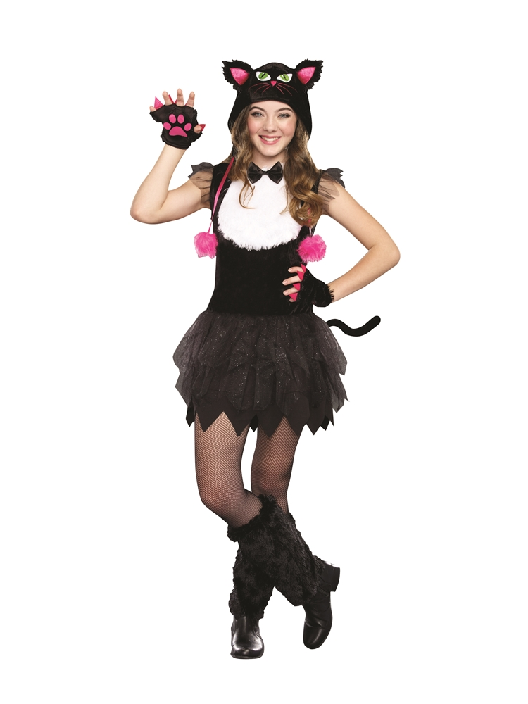 Bad Kitty Tutu Dress Tween Costume
