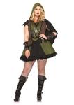 Darling Robin Hood Adult Womens Plus Size Costume