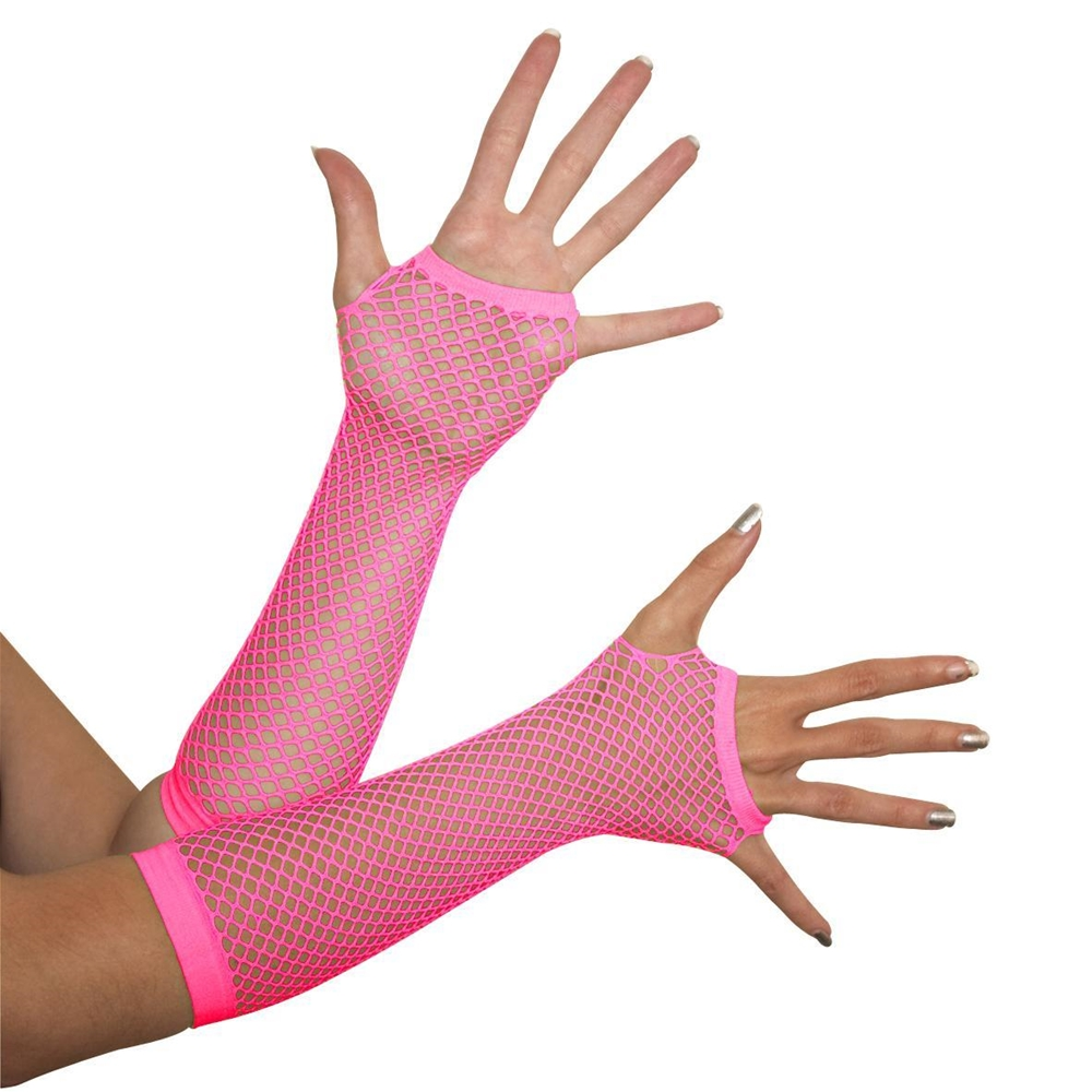 Triangle Net Fingerless Gloves (More Colors)
