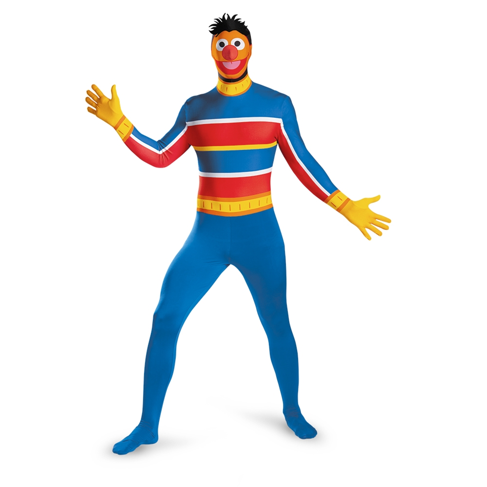Ernie Bodysuit Adult Mens Costume