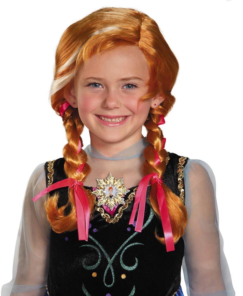 Disney Frozen Movie Anna Child Wig