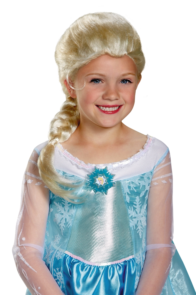 Disney Frozen Movie Elsa Child Wig