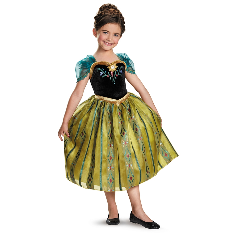 Image of Anna Coronation Gown Deluxe Child Costume