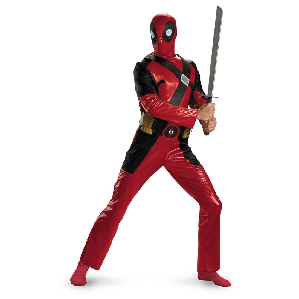 Deadpool Adult Mens Costume