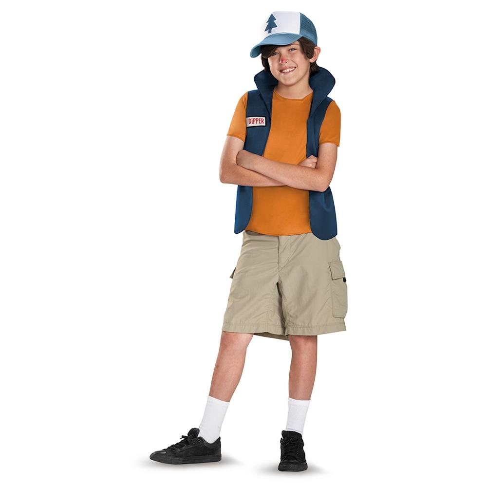 Dipper Pines Classic Tween Costume