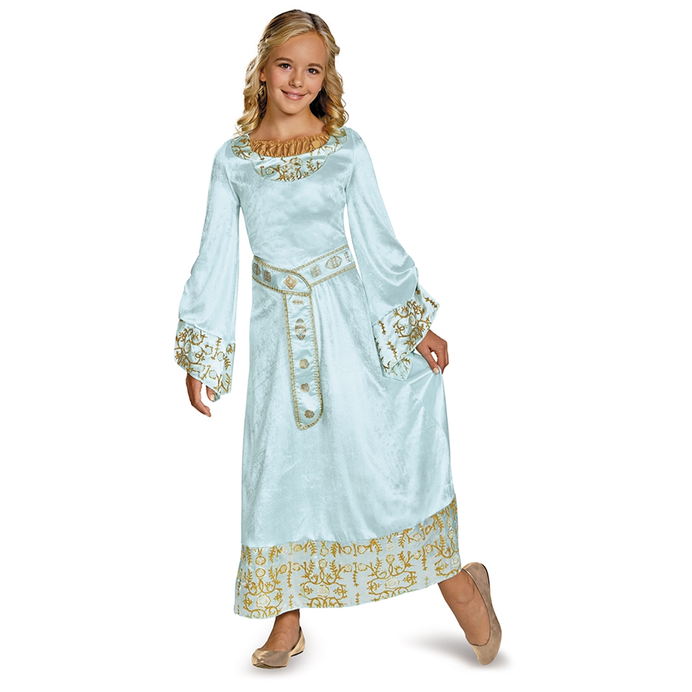 Aurora Blue Dress Child Costume