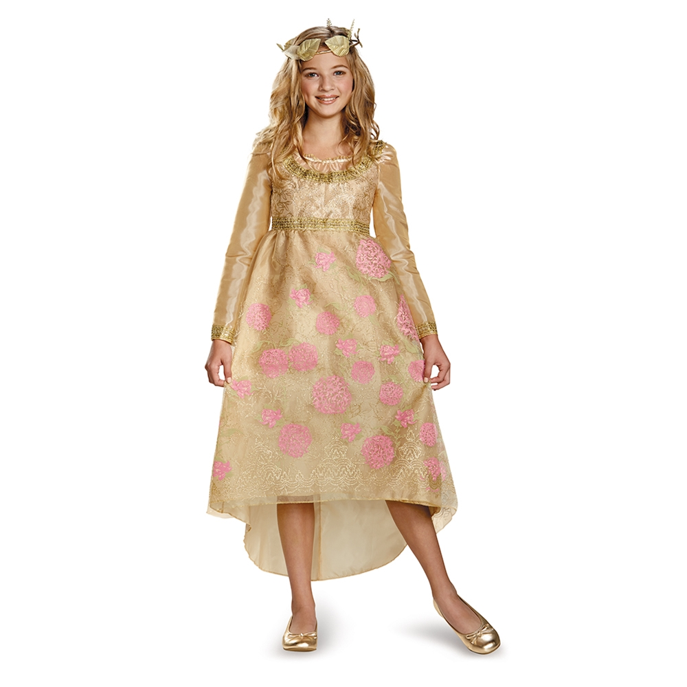 Aurora Coronation Deluxe Gown Child Costume