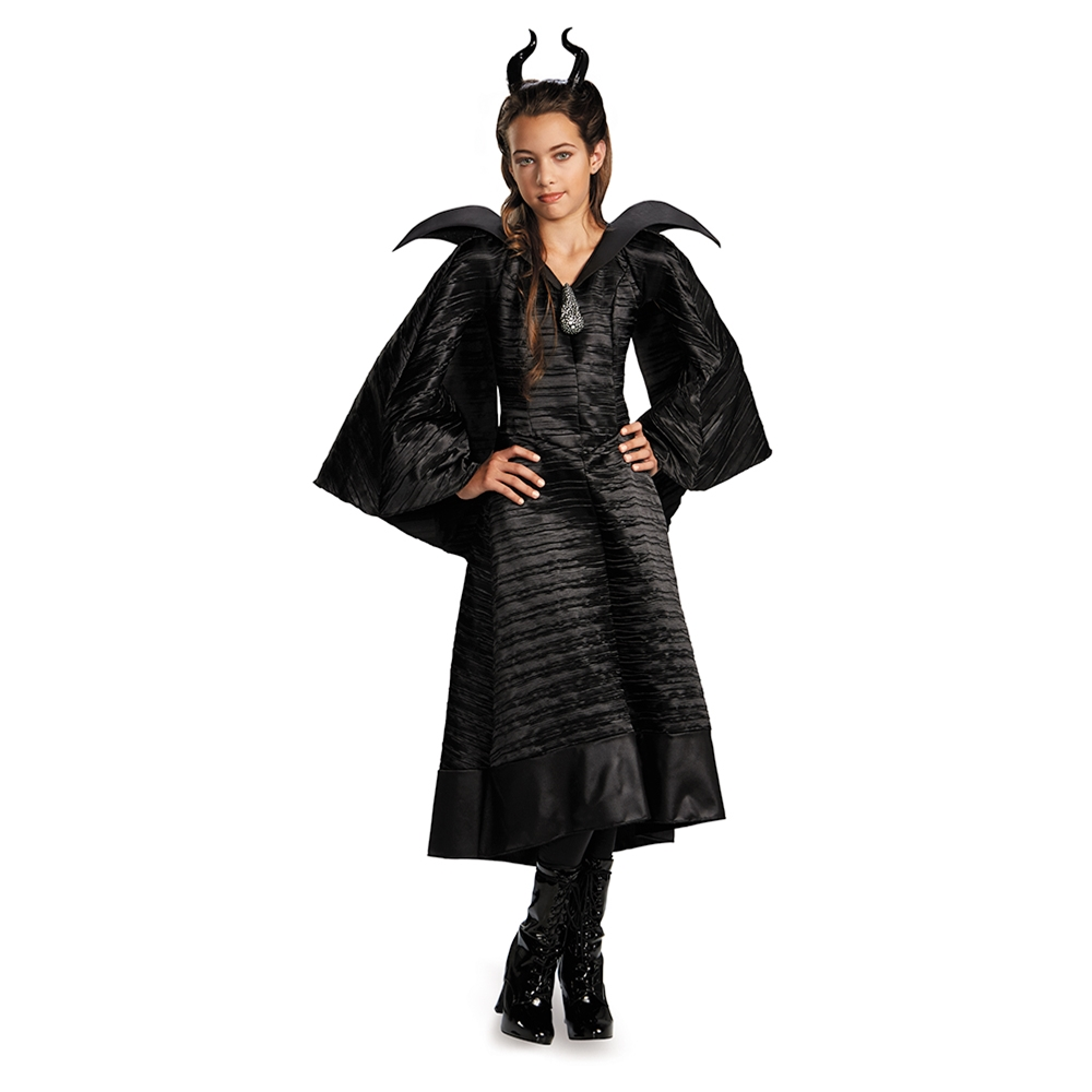 Maleficent Deluxe Gown Child Costume