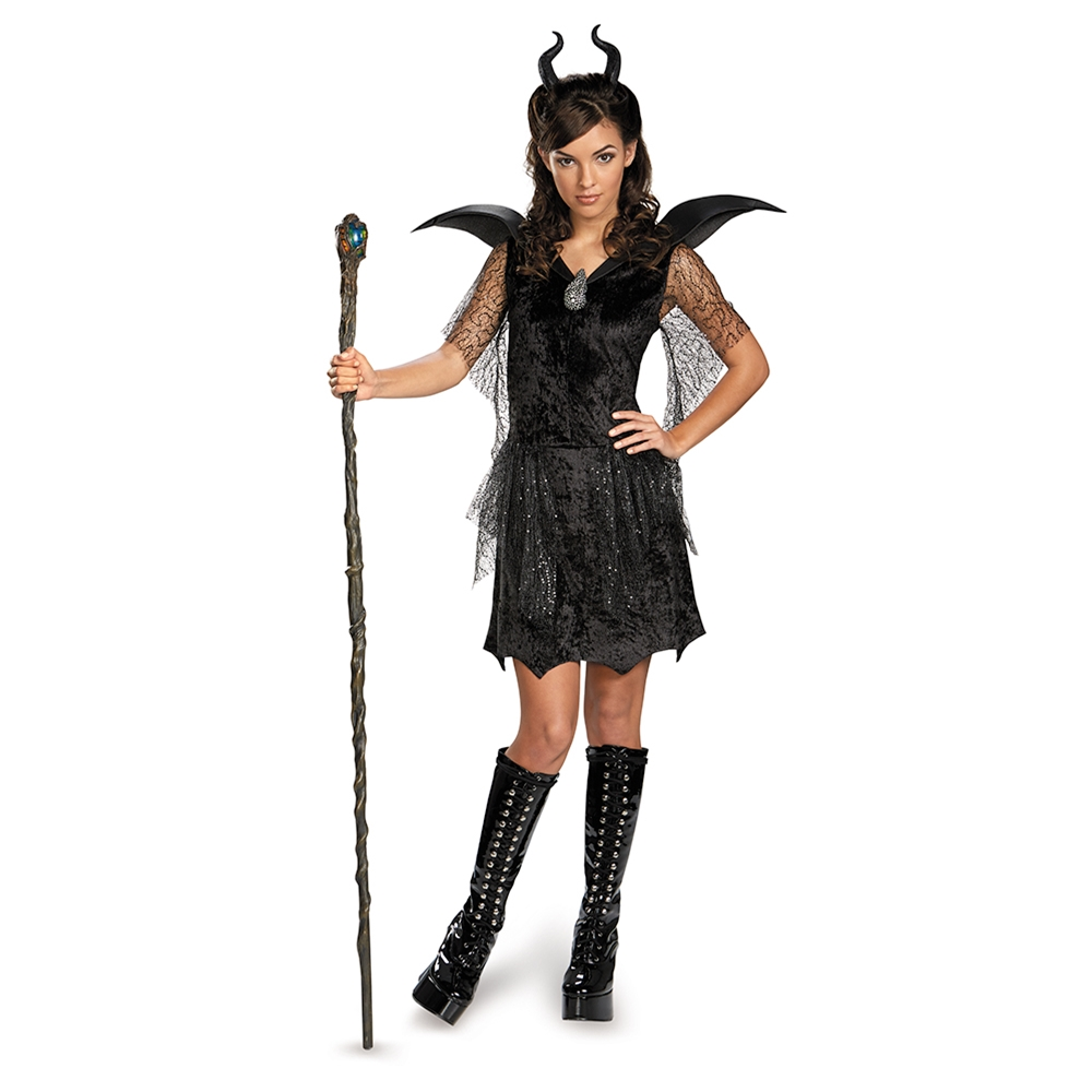 Maleficent Deluxe Gown Tween & Teen Costume