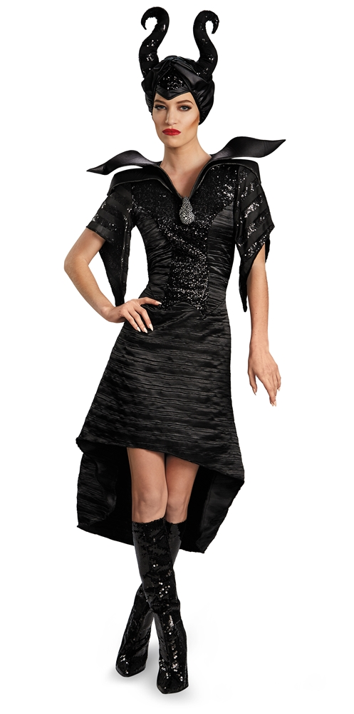 Maleficent Deluxe Glam Gown Adult Womens Costume