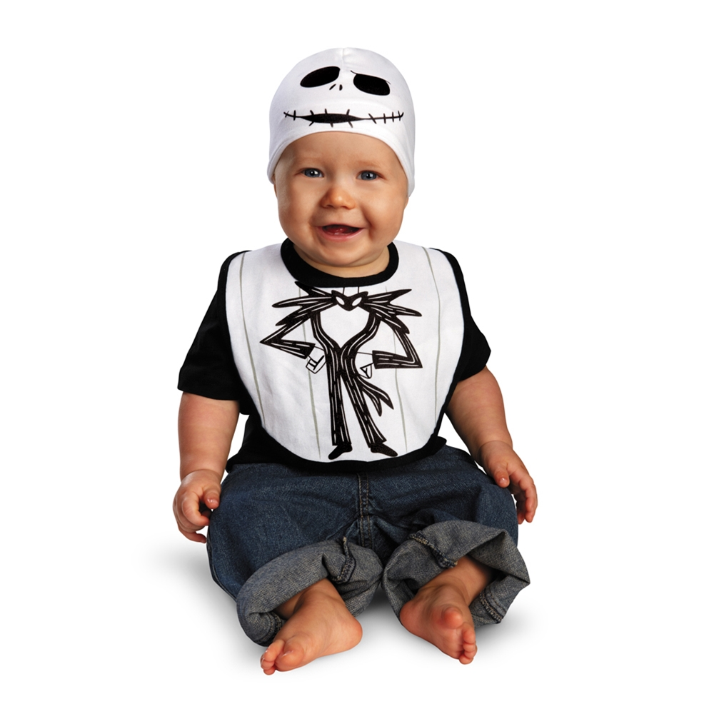 Jack Skellington Bib & Hat Set