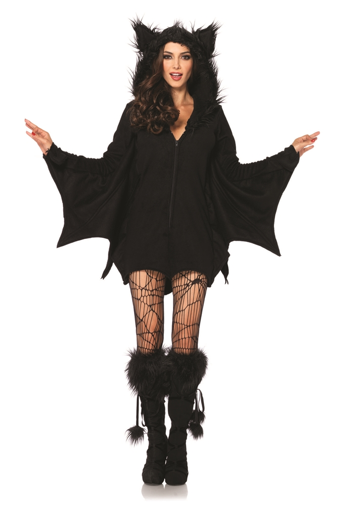 Cozy Bat Dress Adult Womens Costume