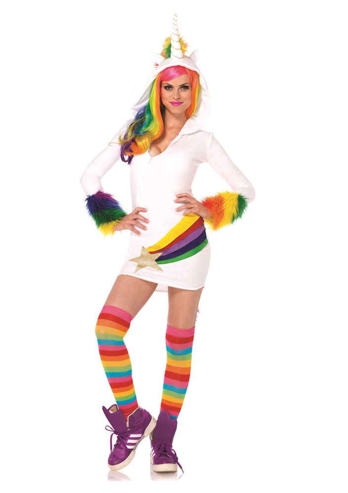 Cozy Unicorn Dress Adult Womens Costume