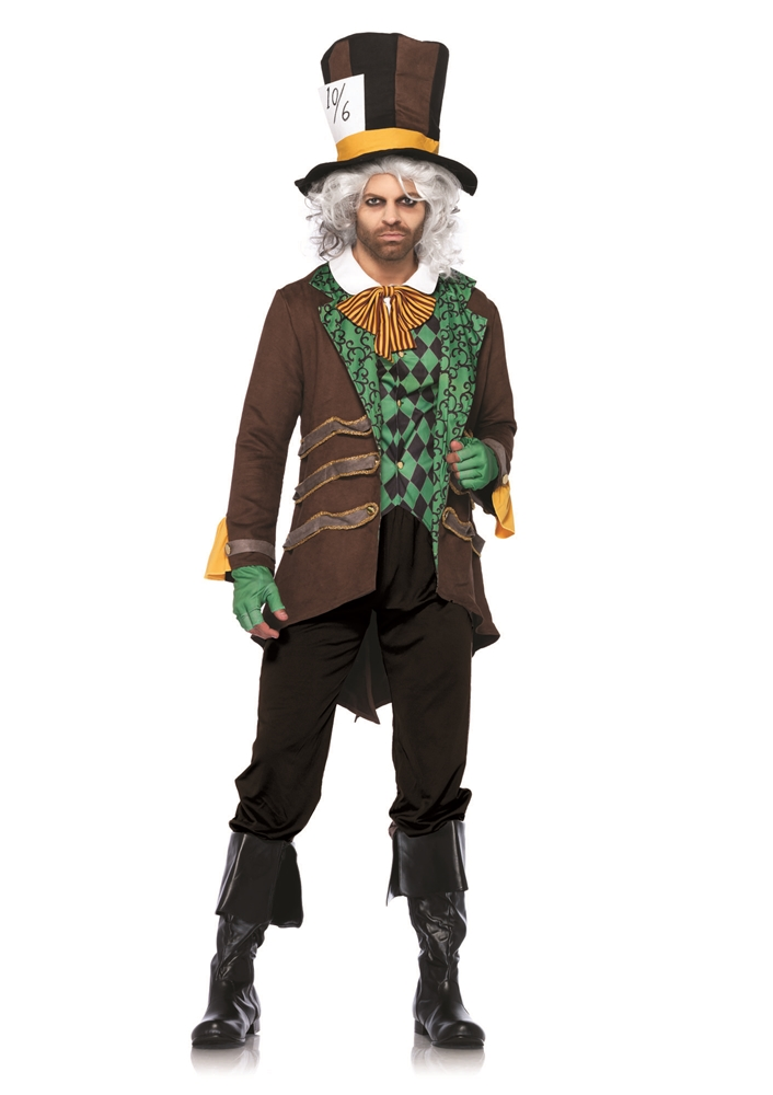 Classic Mad Hatter Adult Mens Costume (Men Mad Hatter Costume)