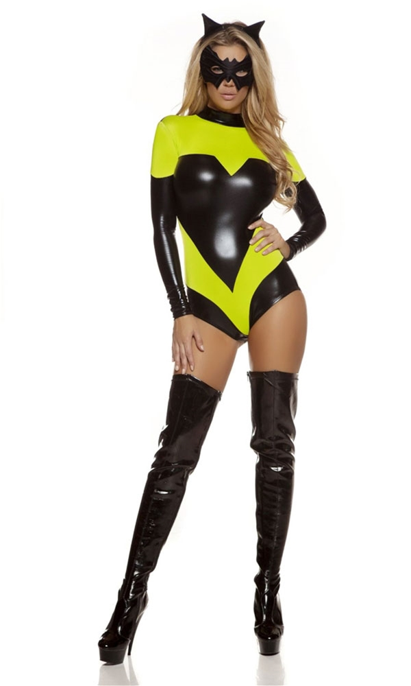 Nocturnal Knockout Superhero Adult Womens Costume