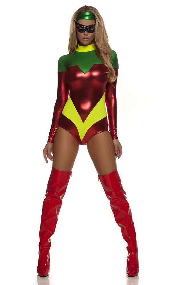 Astonishing Accomplice Superhero Adult Womens Costume