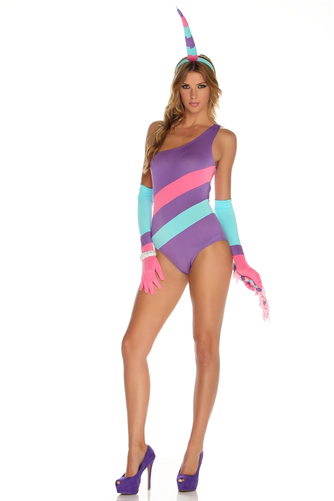 Enchanted Sexy Magical Unicorn Adult Womens Costume