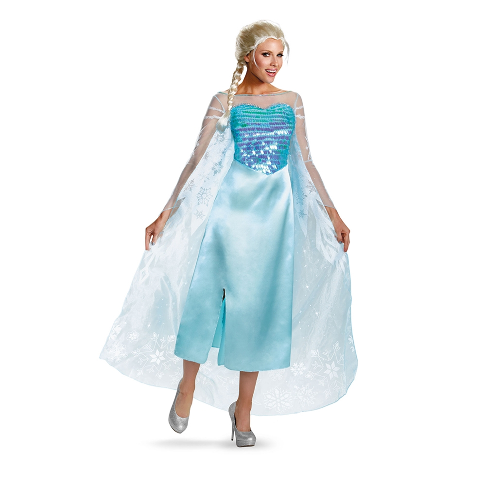Elsa Deluxe Adult Womens Costume