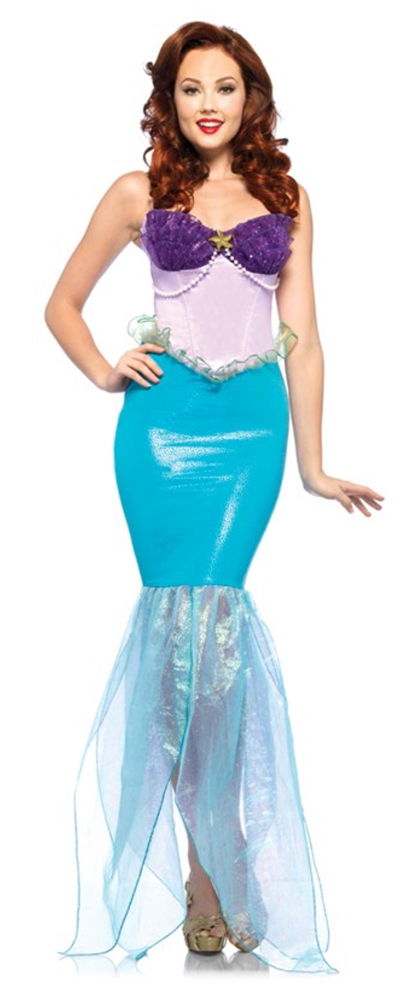 Under the Sea Ariel Adult Womens Costume