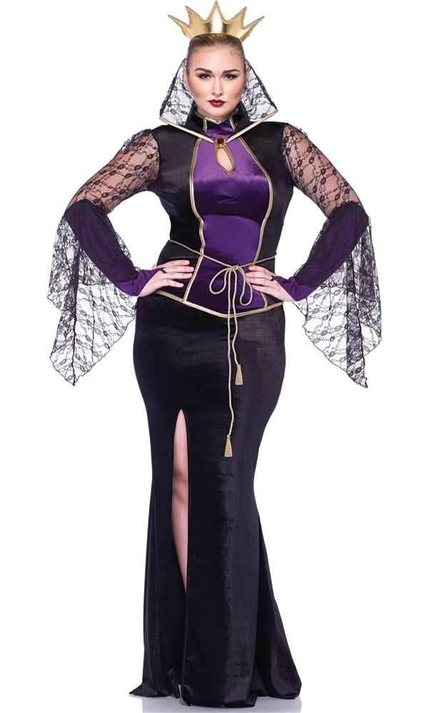 Evil Queen Adult Womens Plus Size Costume