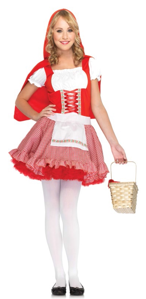 Lil' Miss Red Riding Hood Juniors Costume