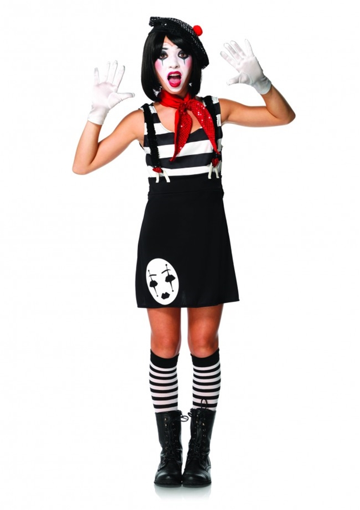 Miss Mime Juniors Costume