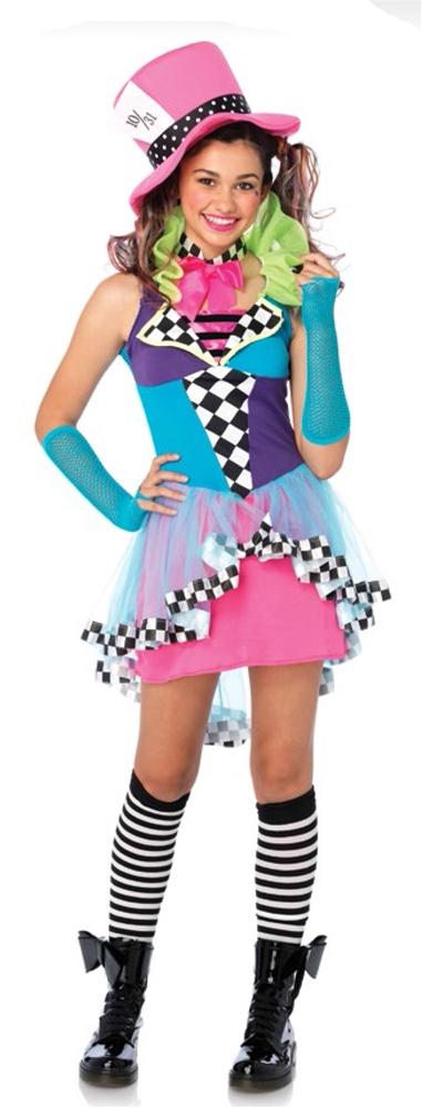 Image of Mayhem Mad Hatter Juniors Costume