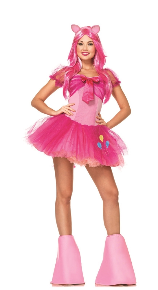 Pinkie Pie Pony Adult Womens Costume by Leg Avenue