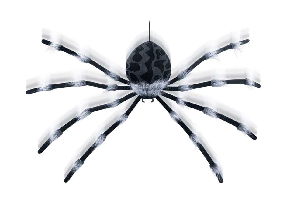 Large Shaking Spider Prop