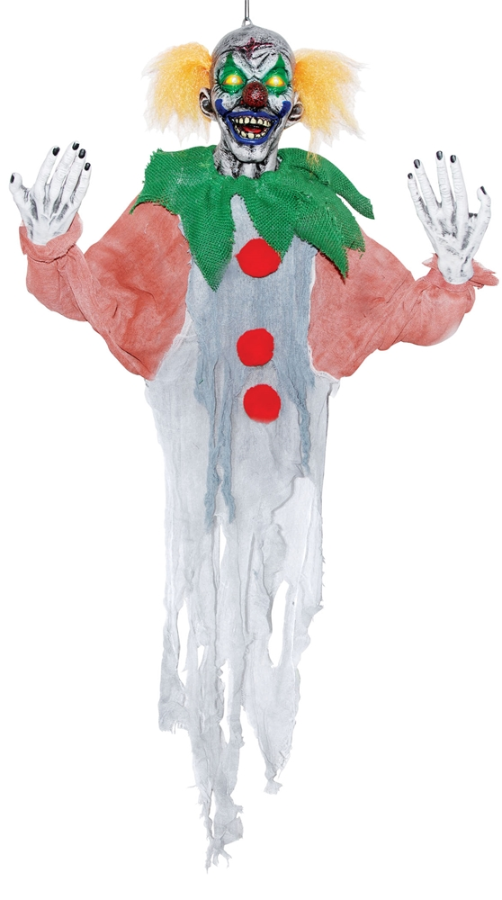 Sinister Hanging Clown Prop