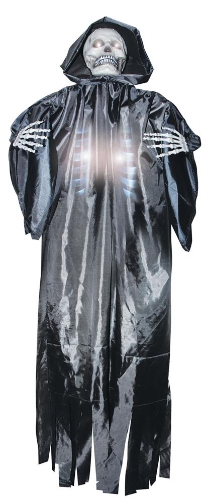 Life-Sized Shocking Skeleton Reaper Prop (Life Size Skeleton)