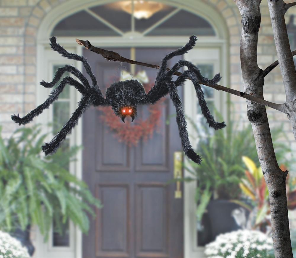 Black Spider Animated Prop by Sunstar Industries Inc.