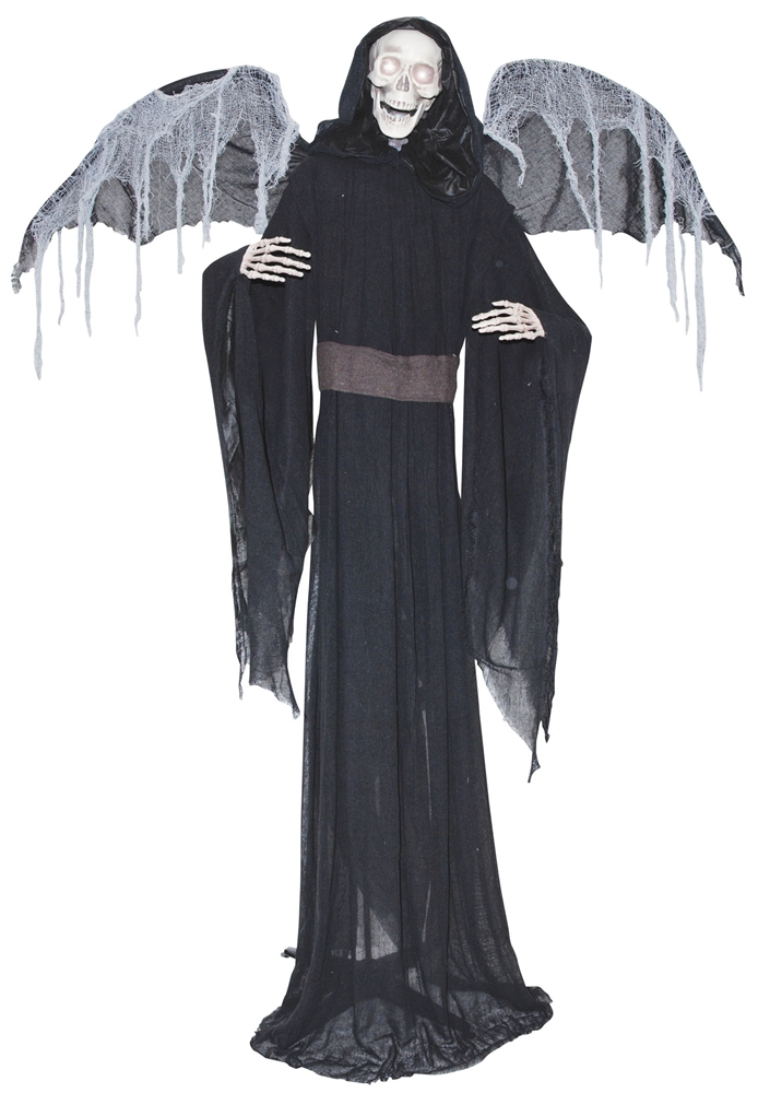 Standing Reaper with Wings Animated Prop
