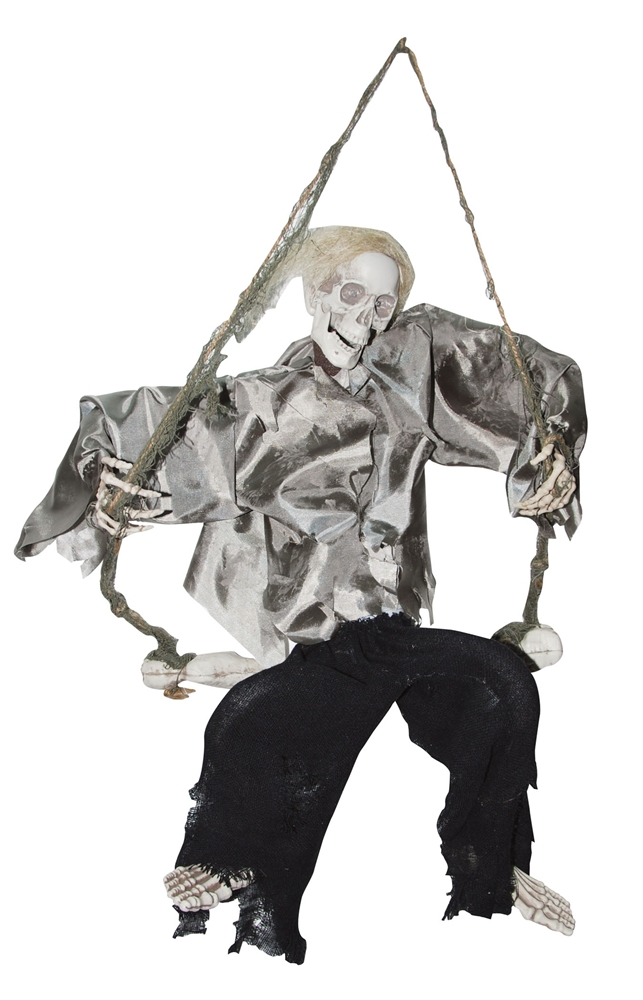 Kicking Skeleton on Swing Prop