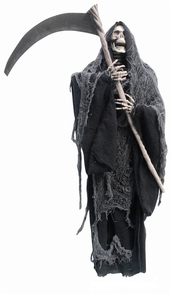 Hanging Reaper with Sickle Prop