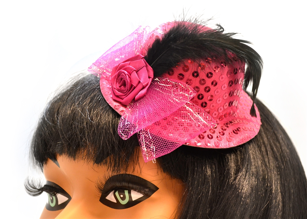 Image of Sequin Clip-On Mini Hat (More Colors)