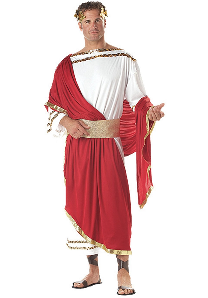 Caesar Roman Robe & Drape Adult Mens Costume