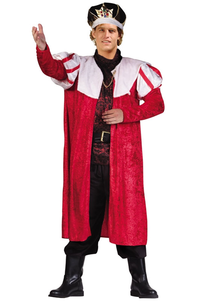 Velvet Renaissance King Robe by RG Costumes