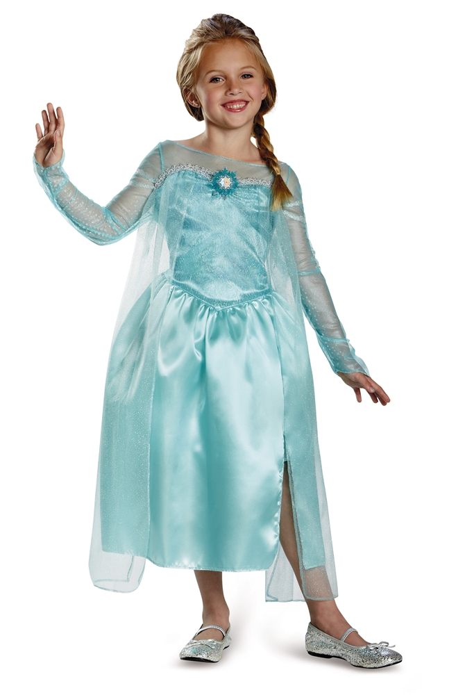 Elsa Snow Queen Classic Gown Child Costume