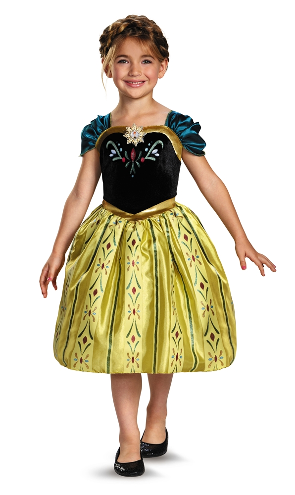 Anna Coronation Classic Gown Child Costume