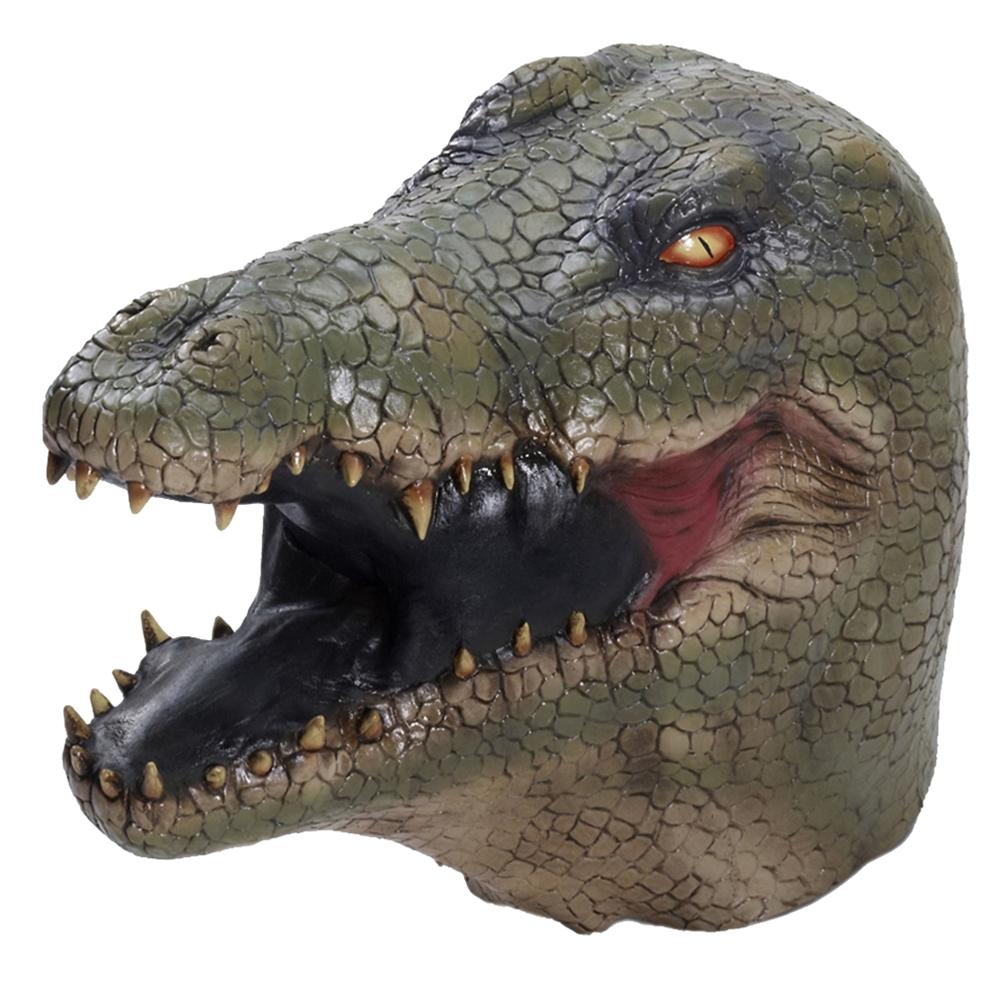Alligator Deluxe Latex Mask